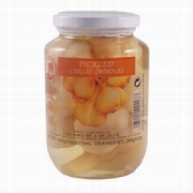 Pickled garlic, whole, 454g