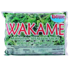 how to cook frozen wakame