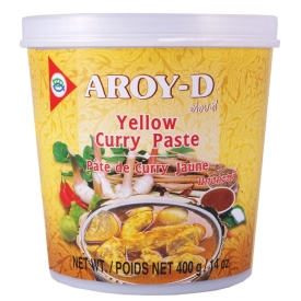 Yellow curry paste, 400g