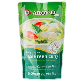 Thai green curry sauce, 250ml