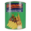 Bamboo shoots in water, halves, 2.95kg
