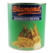 Bamboo shoots in water, straws, 2.95kg