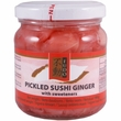 Pickled sushi ginger Gari, pink, 190g