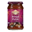 Brinjal (aubergine) pickle, medium hot, 312g
