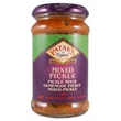Fruit & vegetable mixed pickle, hot, 283g