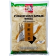 Pickled sushi ginger Gari, white, 1.5kg