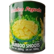 Bamboo shoots in water, slices, 2950g