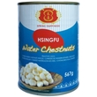 Water chestnuts, whole, 567g
