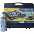Gas stove 2.2kW, portable, with gas cylinder, 1pc.