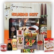 Sushi meal kit in gift box