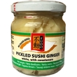 Pickled sushi ginger Gari, white, 190g