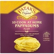 Poppadum Plain, unfried, 100g
