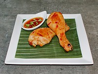 Exotic sweet chilli chicken